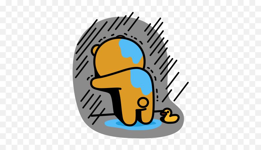 Top Ayy Lmao Excel Funny Stickers For - Sad Kakao Gif Transparent Emoji