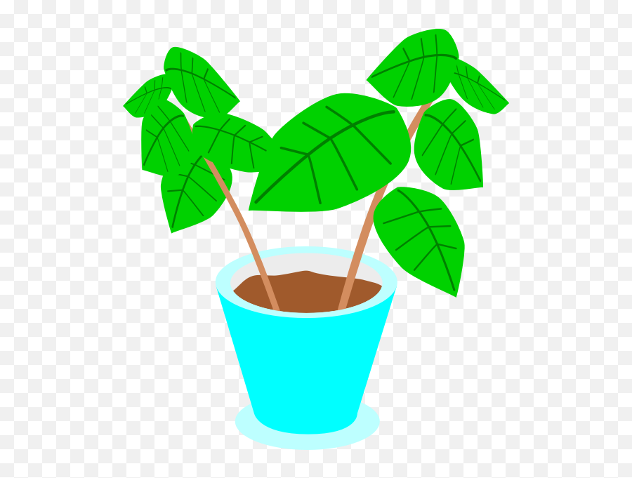 Fx13 Plant - Clipart On Pot Plants Emoji