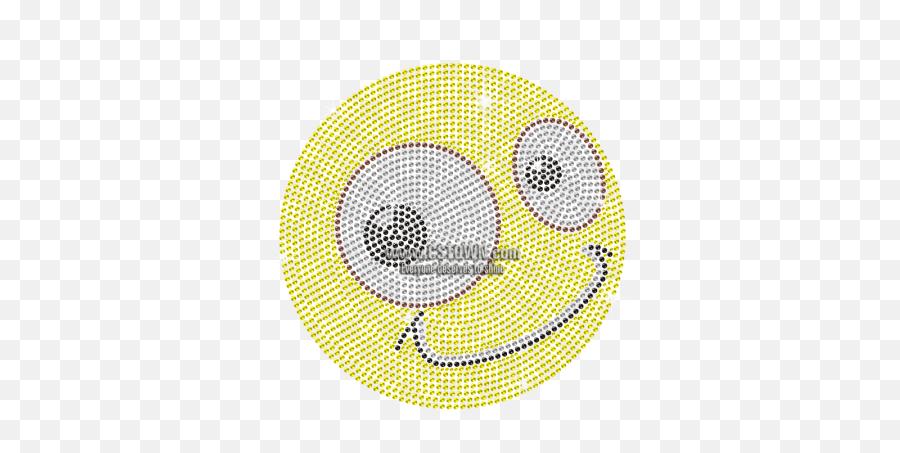 Funny Emoji Iron - Circle,Funny Emoji