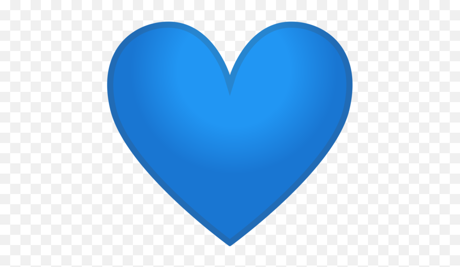 Blue Hearts Emoji - Blue Heart Icon Png