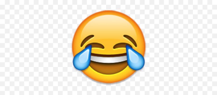 Shrug Emoji Transparent Png - Emoji Faces Crying Laughing