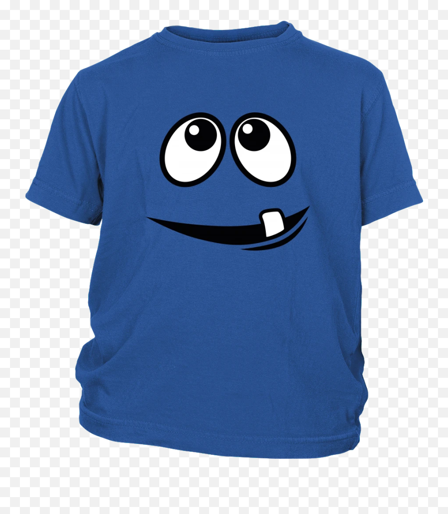 Smiling Monsteru0027s Face 1 Tooth Youth T - shirt  Egoteest  2019 Stl Blues Roster Shirt Emoji
