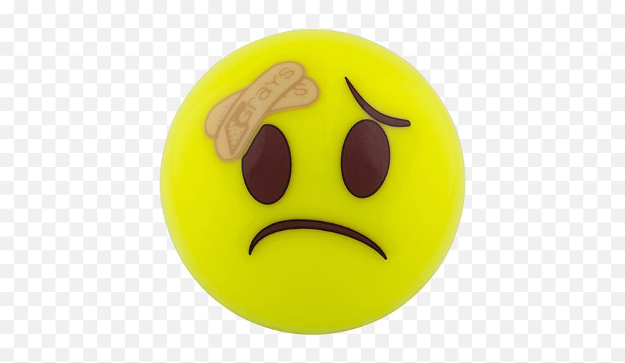 Grays Emoji Hockey Ball - Sad Balls