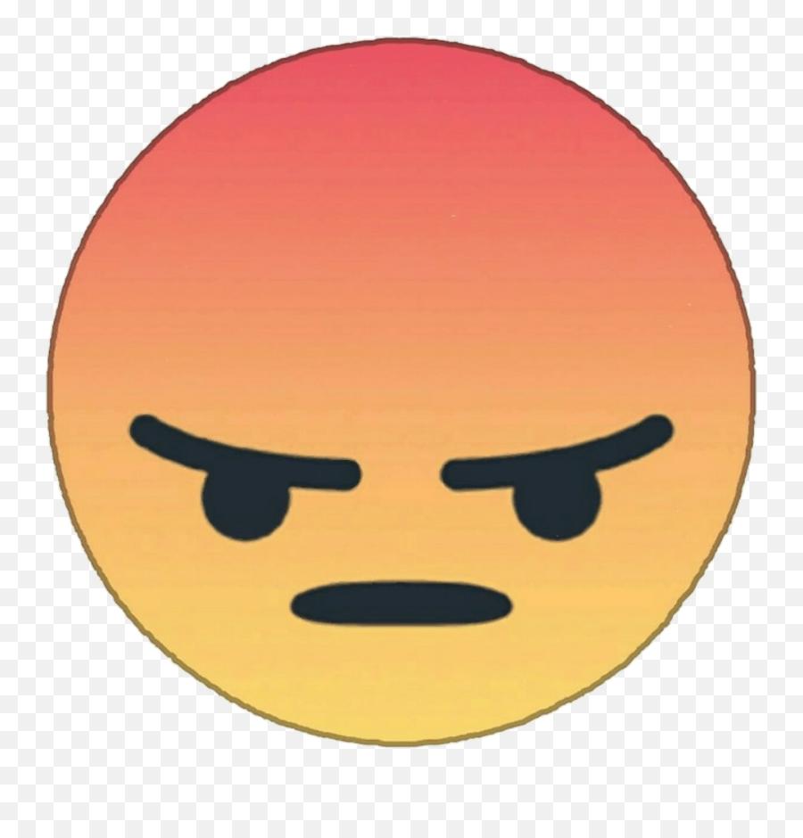 Angry Face Meme Png - Grrrr Facebook Emoji