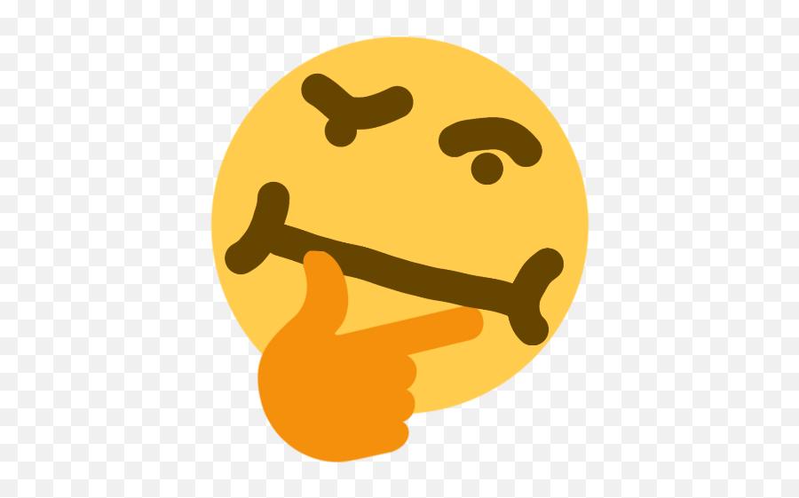 Thinking Emoji - Discord Think Emoji