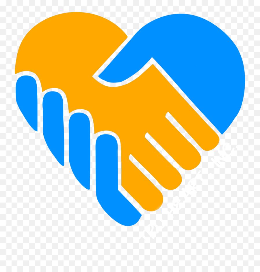 Blue And Yellow Heart Logo - Blue Yellow Heart Png Emoji