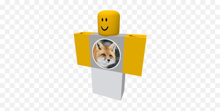 Smiling Fox - Red Fox Emoji,Fox Emoticon