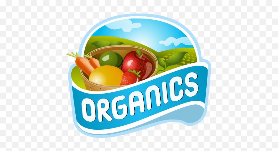 Organics fruits logo AD  PAID AFFILIATE logo fruits - Logo De Produtos Organicos Emoji