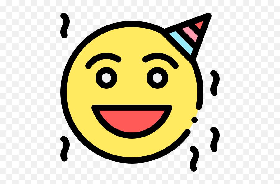 Birthday - Smiley Emoji
