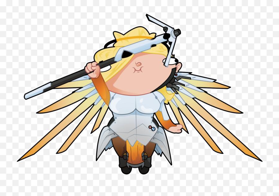 Mercy Emotes Transparent Png Download - Cute Discord Emotes Gif Emoji