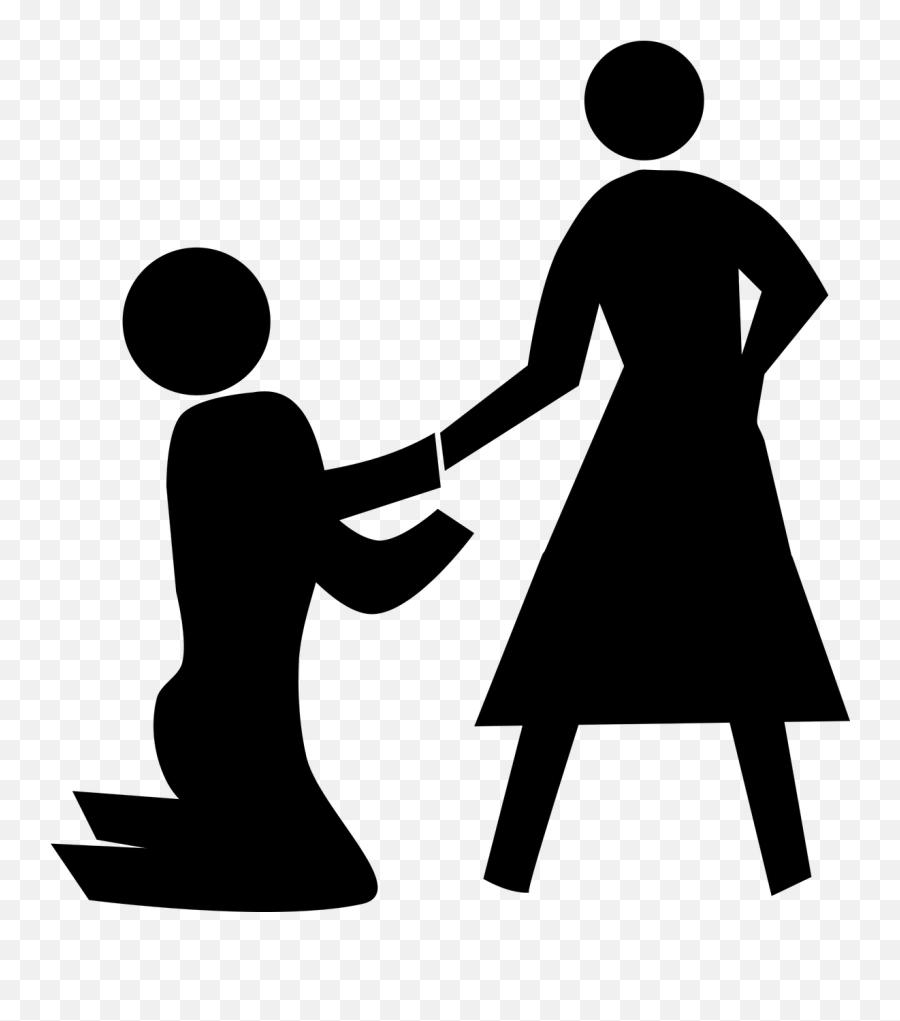 Boyfriend Girlfriend Marriage Pedestrian Propose - Boyfriend Girlfriend Clipart Png Emoji,Kissing Emoticon