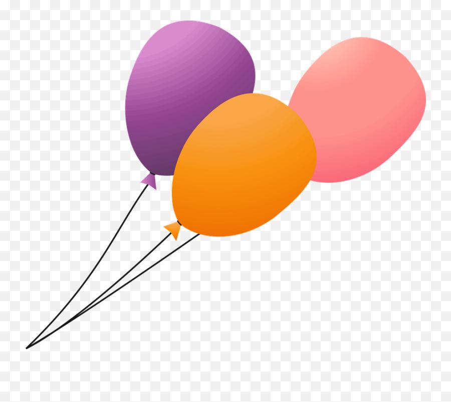 Balloons Birthday - Gambar Kartun Balon Terbang Emoji