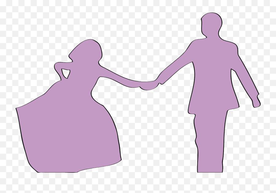 Amour Couple Love Silhouette Two - Casal Apaixonado Dançando Silueta Emoji,Kissing Emoticon