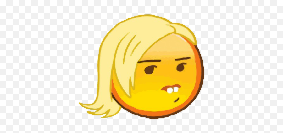 Emoji Tumblr Transparent - Buck Tooth Girl Meme Emoji,Funny Emoji