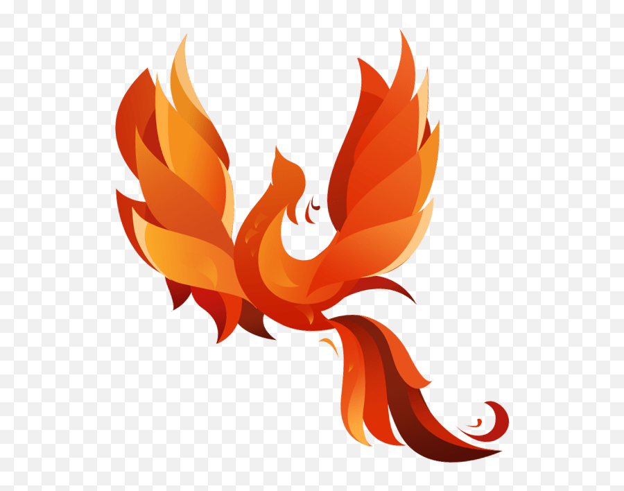 Transparent Phoenix Picture - Transparent Phoenix Clipart Emoji