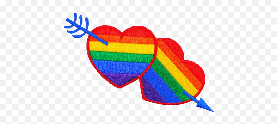 Heart Png Pride Picture - Omegle Gay Emoji