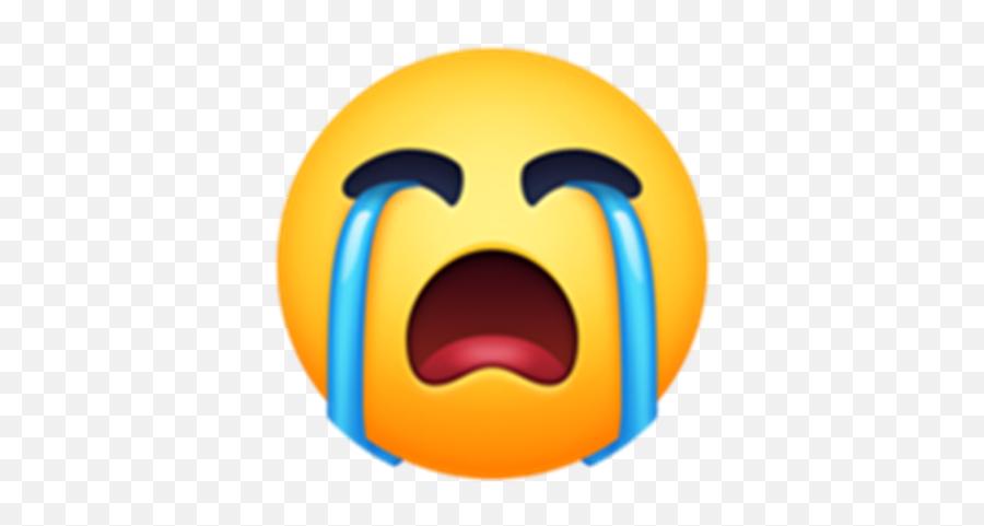 Crying Emoji - Roblox Happy,Sobbing Emoji