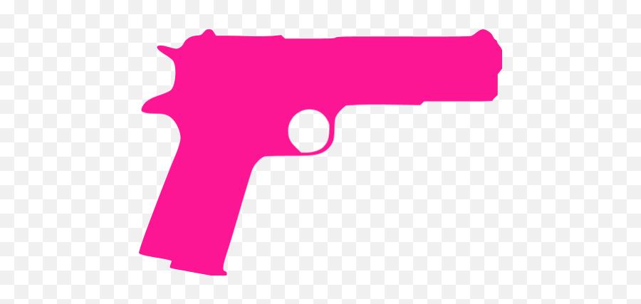 Free Pink Gun Cliparts Download Free - Pink Gun Clipart Emoji