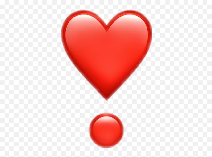 Heart Emoji Clipart - Iphone Heart Emoji Png,Sparkling Heart Emoji