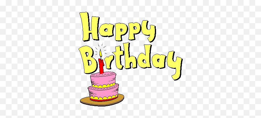Animated Happy - Happy Birthday Emoji Gif