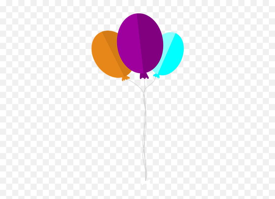 Ballons Balloon Party - Baloes De Festa Png Emoji