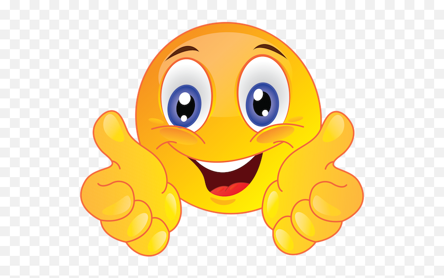 Using Emojis - Transparent Smiley Face With Thumbs Up,Funny Emoji