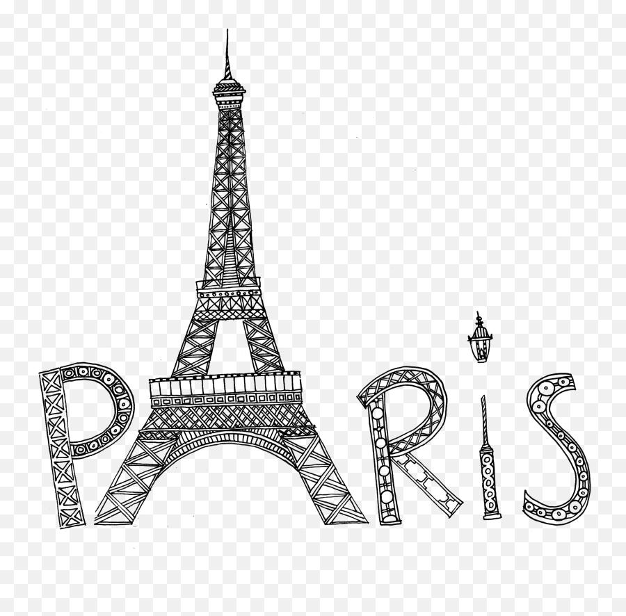 Coloring For Seniors - Eiffel Tower Emoji,Eiffel Tower Emoji