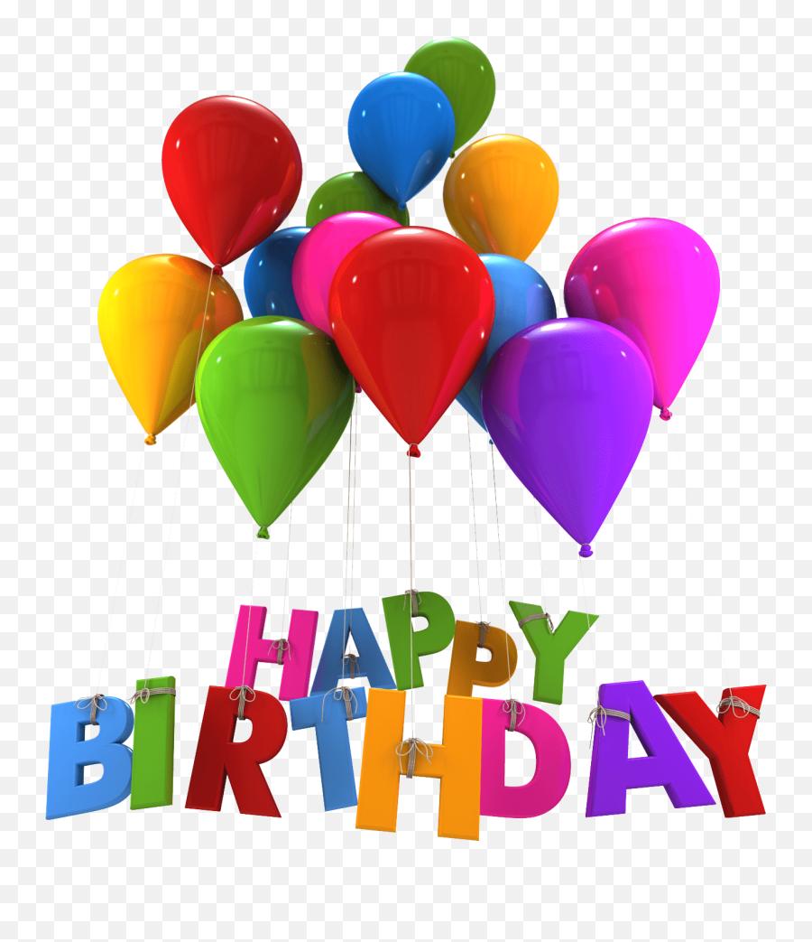 Birthday Balloons Images - Happy Birthday Day Png Emoji,Happy Birthday Emoticons