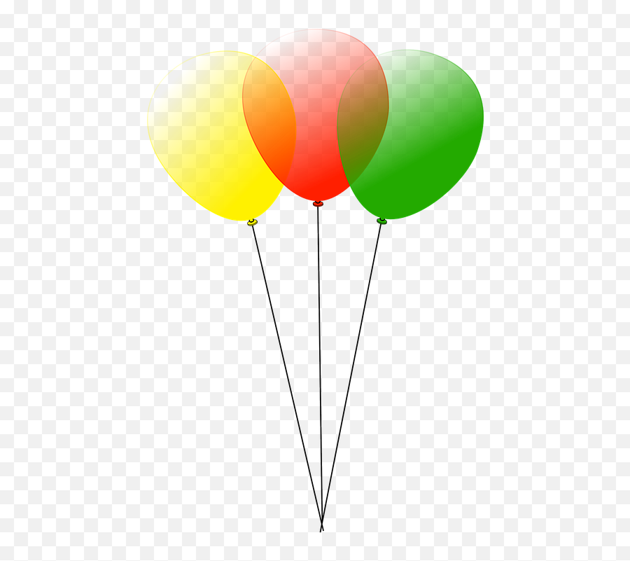 Balloons Party Fun - Balloons Clip Art Emoji