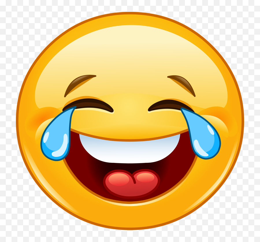 Emoticon Smiley Face With Tears Of Joy Emoji Happiness - Emoji Whatsapp Smiley Face