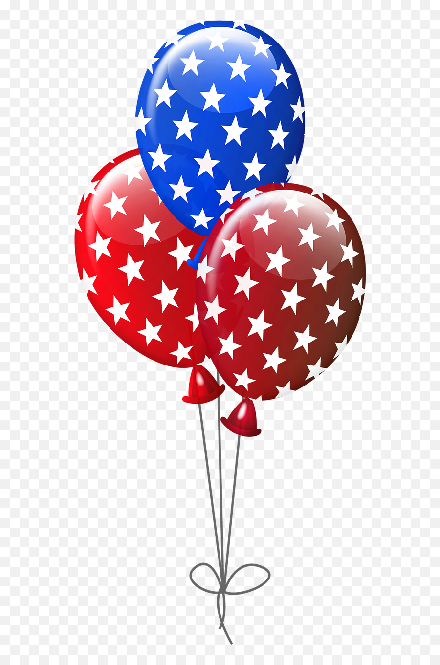 Download Free Photo Of Balloons Blue - Red White And Blue Balloons Clipart Emoji