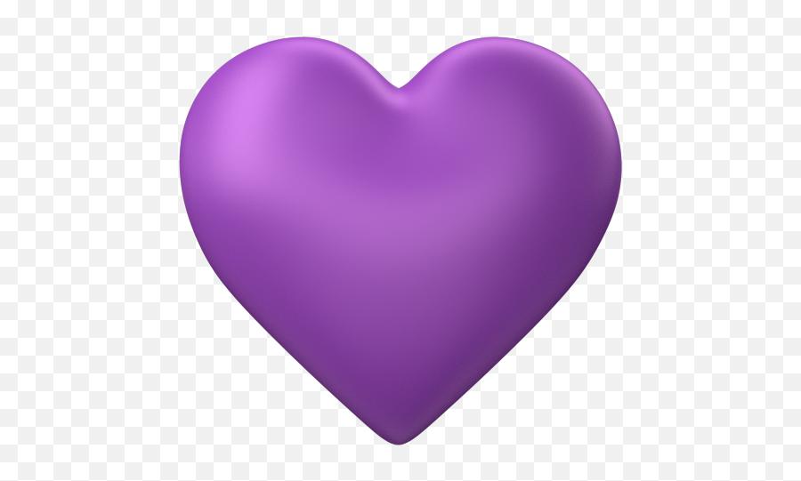 Purple Heart Emoji Transparent Background - Transparent Background Purple Heart,Brick Emoji