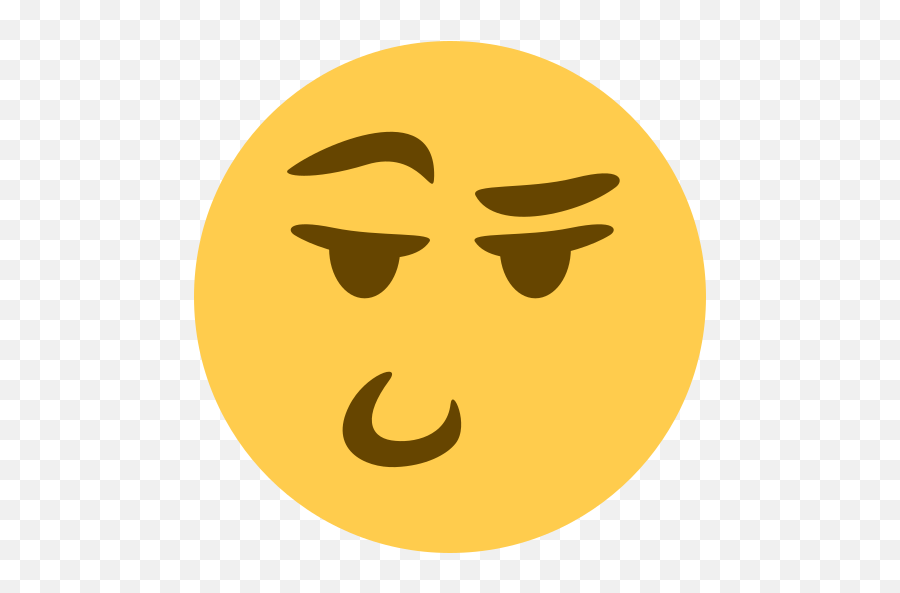 Smug Discord Emoji - Discord Emoji Face