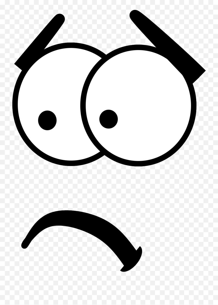 Outline Face Art Emoji Transparent Png - Clip Art