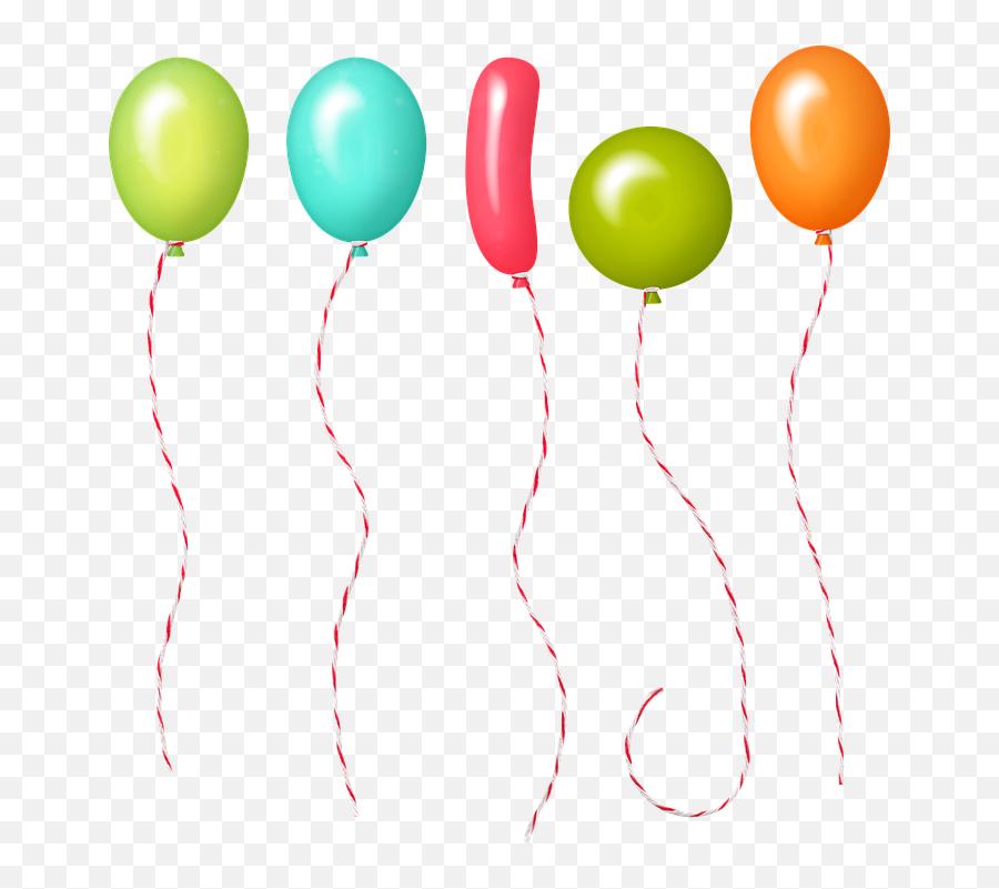 Balloons Confetti Celebration - Konfety Png Emoji