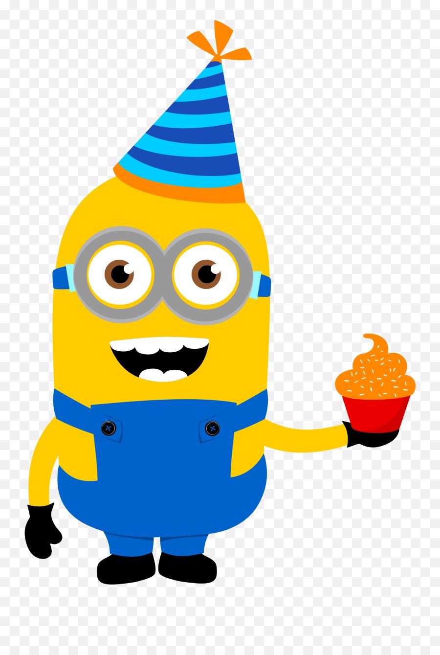 Vector Minion Clipart Picture - Birthday Minions Clipart Emoji,Minion Emoji App