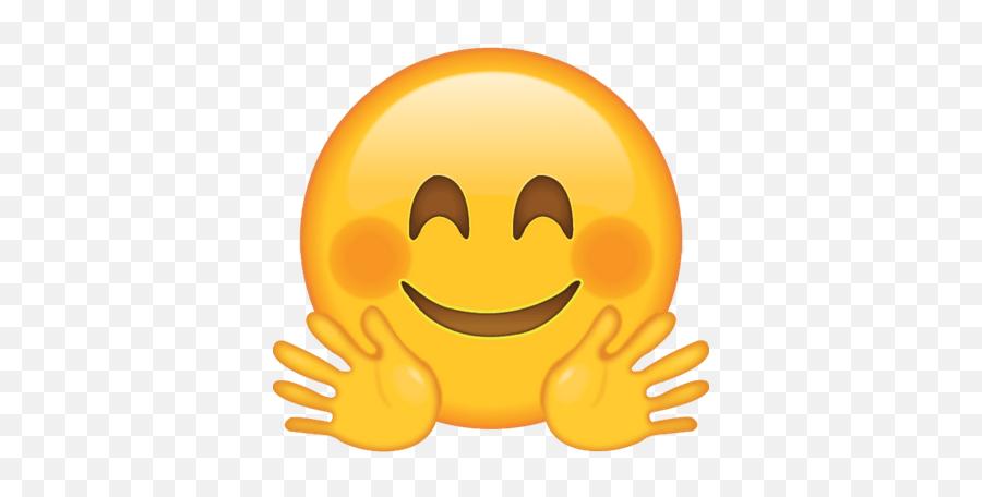 Face With Tears Of Joy Emoji Transparent Png - Waving Hands Emoji,Joy Emoji