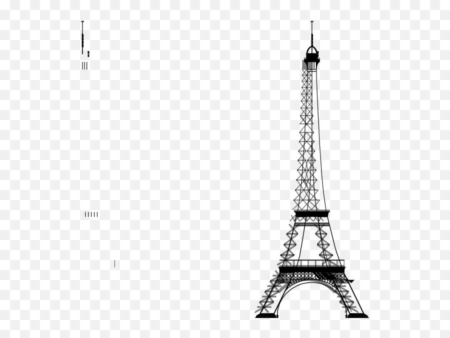 French Clipart Sketch Eiffel Tower - Eiffel Tower Background Powerpoint Emoji,Is There An Eiffel Tower Emoji