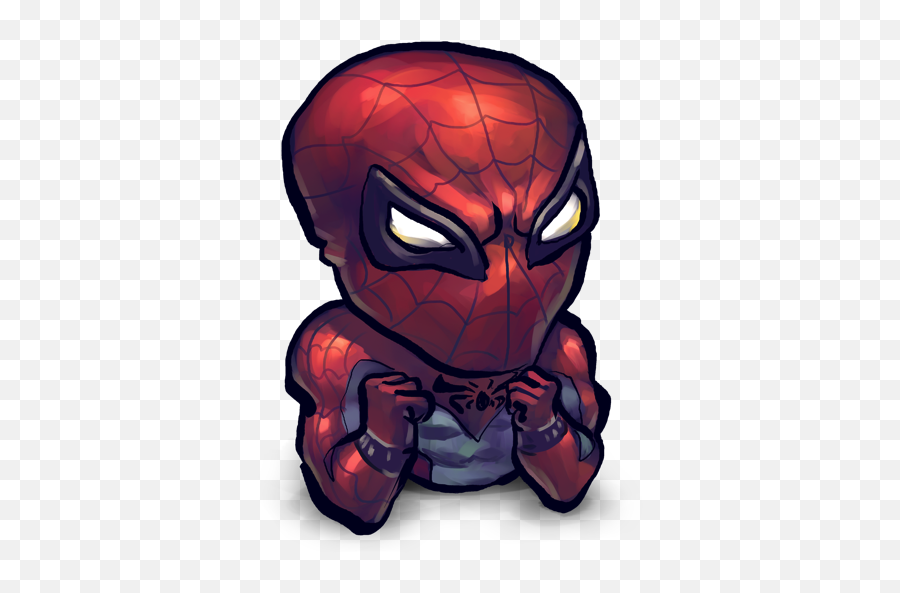 Comics Spiderman Baby Icon - Super Hero Dream League Soccer Emoji