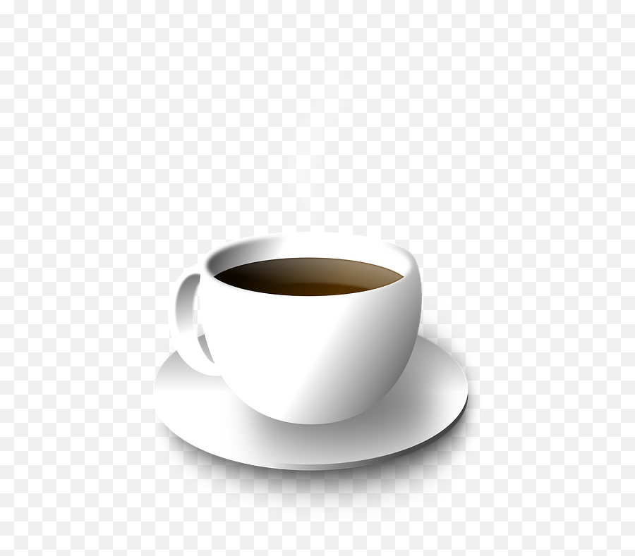 Free Saucer Coffee Illustrations - Coffee Cup Of Illustration Emoji