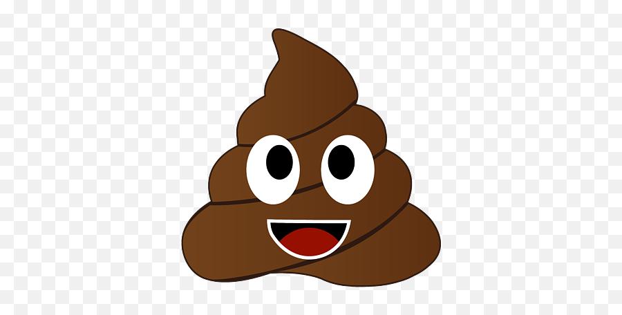 Humor Shit Poop Emoji Funny And Kawaii Character Round Beach Towel - Transparent Background Poop Emoji Png,Funny Emoji