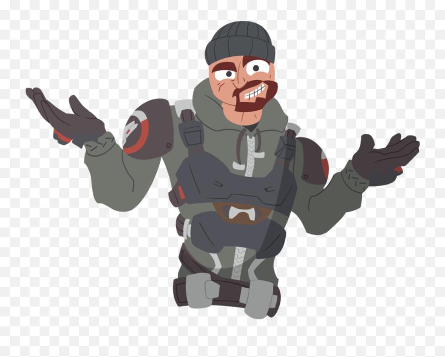 Png Shrug Transparent Shrug - Reaper Overwatch Png Transparent Emoji
