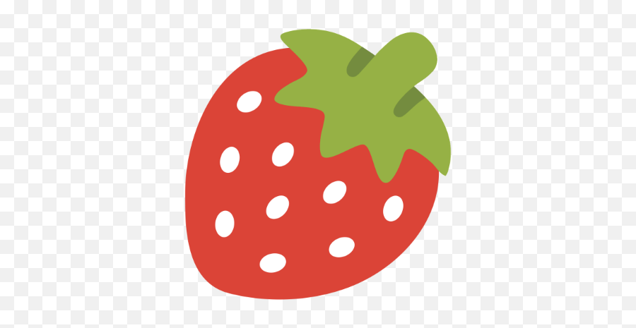 Strawberry - Strawberry Emoji Discord