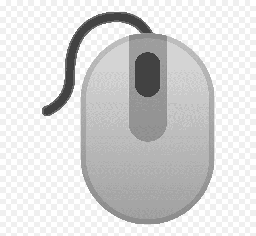 Computer Mouse Emoji Clipart - Mouse Computer Icon Png