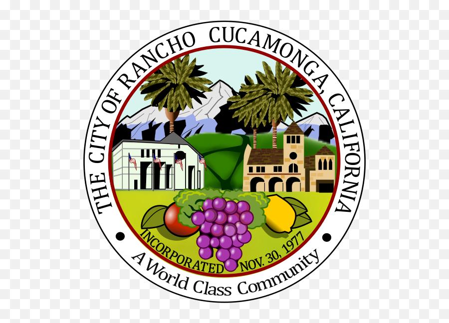 Seal Of Rancho Cucamonga - Rancho Cucamonga Seal Emoji,Santa Emoji Iphone