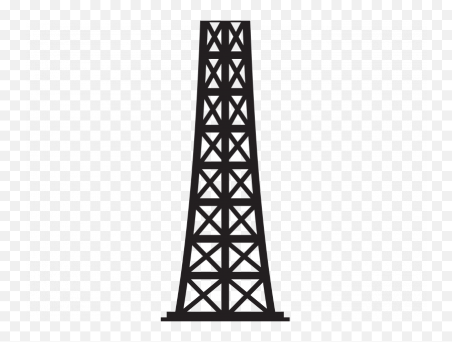 Collection Of Crafty Clipart - Tower Silhouette Eiffel Clipart Emoji,Is There An Eiffel Tower Emoji