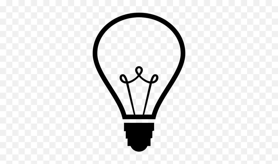 Emojione Bw 1f4a1 - Clip Art Emoji,Christmas Light Emoji