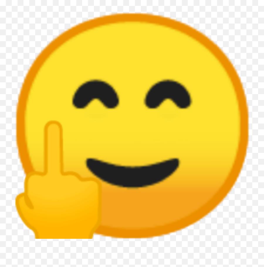 Emoji Happy Funny Smile Emojis Sticker - Smiley,Funny Smile Emoji