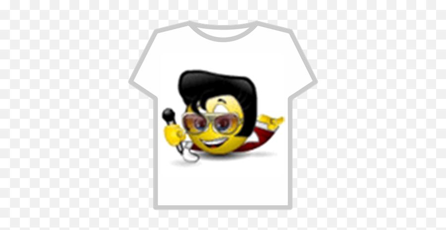 Emoticon Elvis - Smiley Emoji