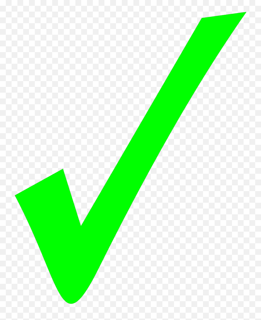 Check Mark Png Svg Clip Art For Web - Tick Correct Emoji